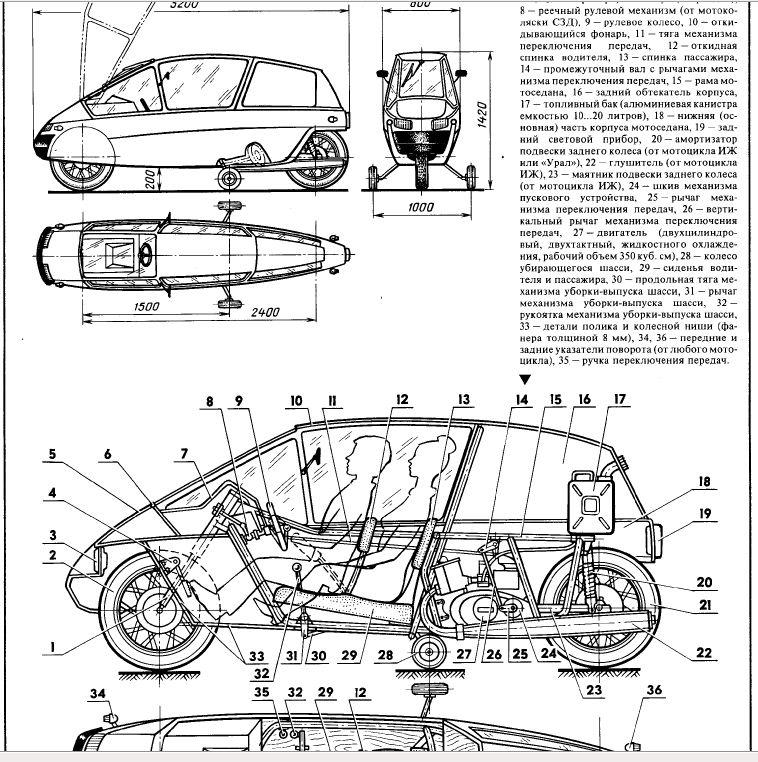 описание схемы и чертежы